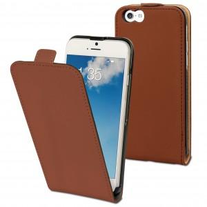 Muvit Slim Flip Brown Sand iPhone 6 Plus