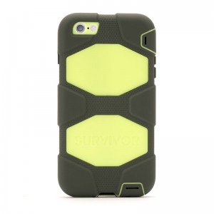 Griffin Survivor All-Terrain Olive/Lime iPhone 6