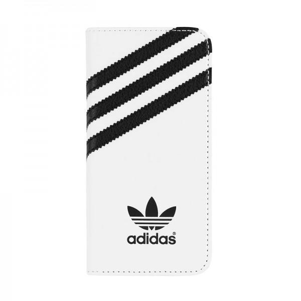 adidas Originals Booklet Case White/Black iPhone 5 en 5S