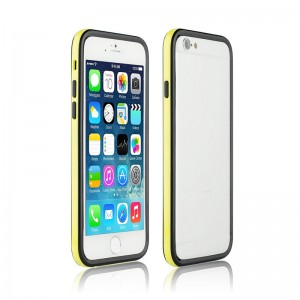 Bumper Dual Color Black/yellow iPhone 6