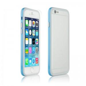 Bumper Dual Color Grey/Blue iPhone 6