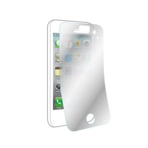Muvit Screenprotector Spiegel x2 iPhone 5/5S/5C