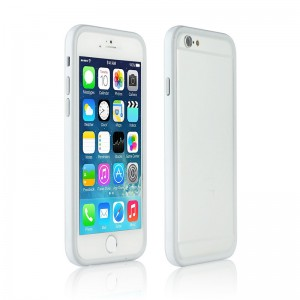 Bumper Dual Color Grey/White iPhone 6
