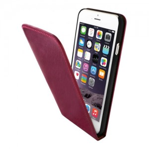 Mobiparts Luxury Flip Case Pink iPhone 6