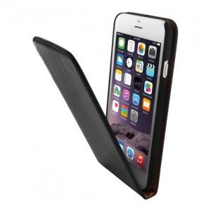 Mobiparts Luxury Flip Case Black iPhone 6