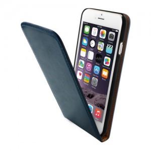 Mobiparts Luxury Flip Case Blue iPhone 6
