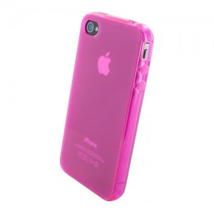 Mobiparts Essential TPU Pink iPhone 4/4S