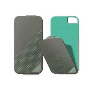X-Doria Dash Flippercase grijs blauw iPhone 5 en 5S