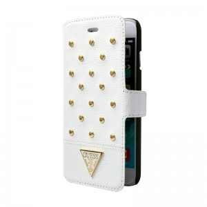 Guess Booktype Case White iPhone 6 Plus