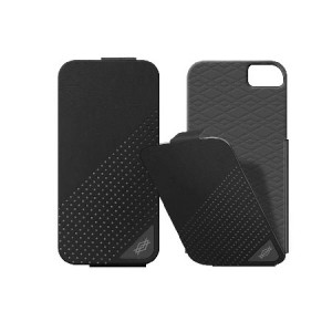 X-Doria Dash Flippercase zwart iPhone 5 en 5S