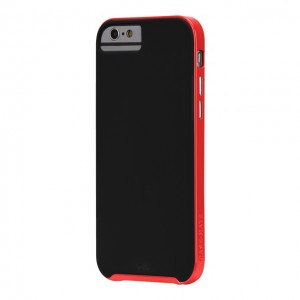 Case-Mate Slim Tough Black/Red iPhone 6