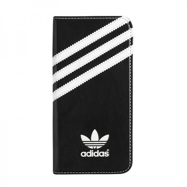 adidas Originals Booklet Case Black/White iPhone 6 Plus