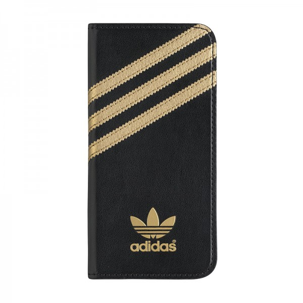 adidas Originals Booklet Case Black/Gold iPhone 6 Plus