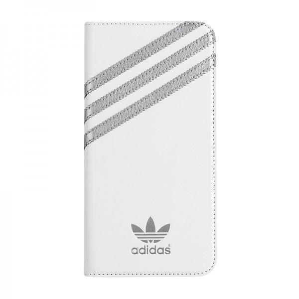 adidas Originals Booklet Case White/Silver iPhone 6 Plus