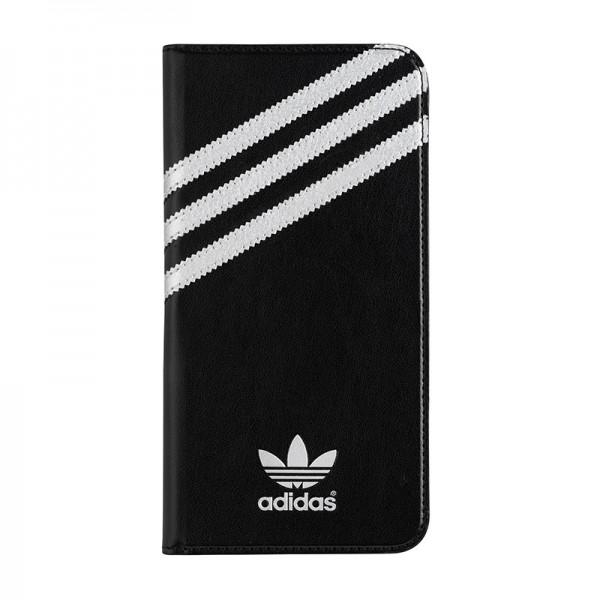 adidas Originals Booklet Case Black/Silver iPhone 6 Plus