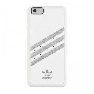 adidas Originals Moulded Case White/Silver iPhone 6