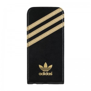 adidas Originals Flip Case Black/Gold iPhone 6
