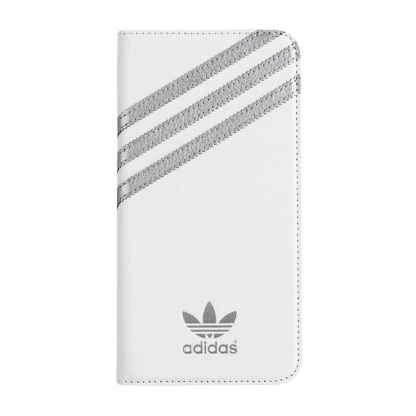 adidas Originals Booklet Case Whtie/Silver iPhone 6