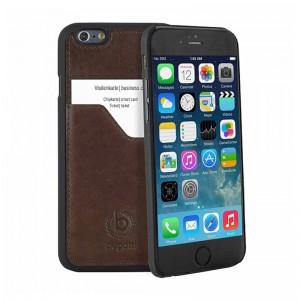 Bugatti ClipOnCover Premium Brown iPhone 6