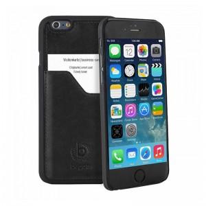 Bugatti ClipOnCover Premium Black iPhone 6