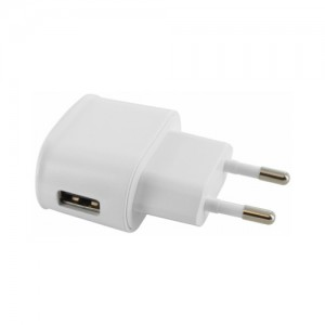 Mobiparts Premium Travel Charger 1A White