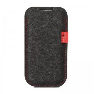 Pack & Smooch Elie Dark Grey/Red iPhone 6