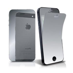 Screen- en backprotector Spiegel iPhone 5 en 5S