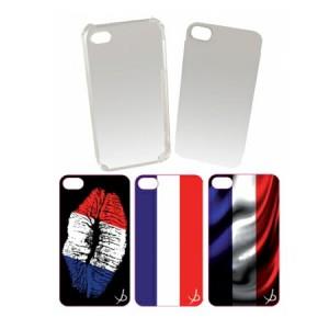 B-Stock* Dolce Vita vlag cover Frankrijk iPhone 4 en 4S