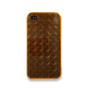 Diamond Softcase Oranje iPhone 4 en 4S