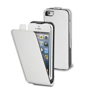B-Stock* Muvit Slim Flippercase Wit iPhone 5 en 5S