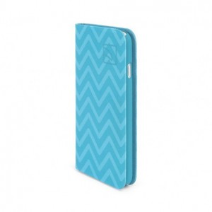 Tucano Libro Zigzag Light Blue iPhone 6
