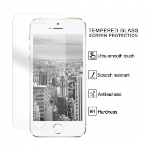 Mobiparts Tempered Glass Screen Protector iPhone 5/5S/5C