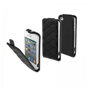 Muvit Padded Slim Black iPhone 4/4S