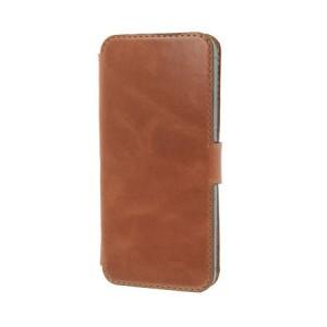 B-Stock* Valenta Booklet Slim Classic Brown iPhone 5 en 5S