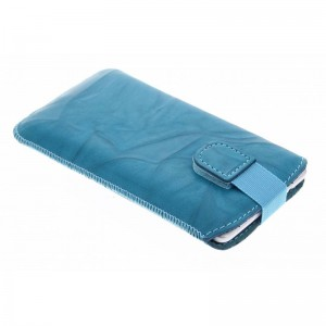 B-Stock* Mobiparts Pouch Smoke Turquoise iPhone 6