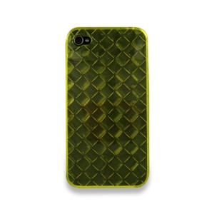 Diamond Softcase Geel iPhone 4 en 4S