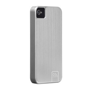 Case-Mate Barely There Aluminum Platinum iPhone 4 en 4S