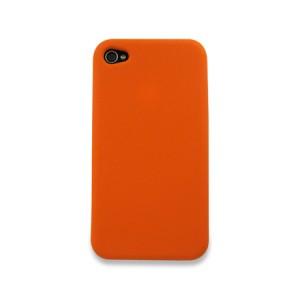 Siliconen Hoes oranje iPhone 4 en 4S