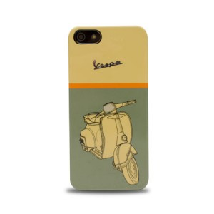 Vespa Back Case Green Metallic iPhone 5 en 5S