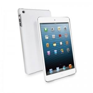 Muvit Rubberized Back Case White iPad Mini 1/2/3