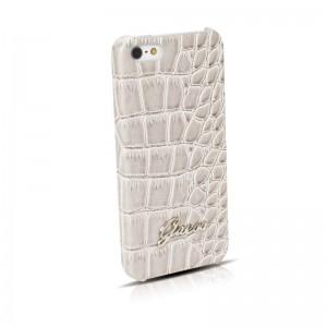 Guess Back Case Crocodile Beige iPhone 5 en 5S
