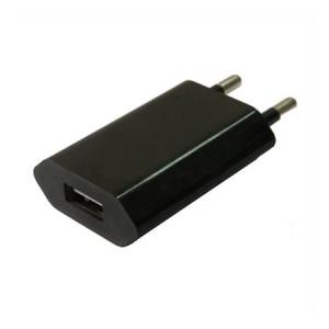 USB Lichtnetadapter zwart