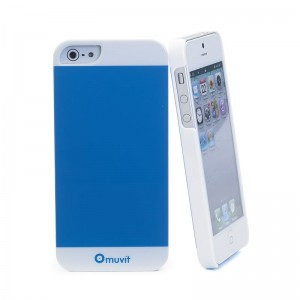 Muvit Colorful Case Blue iPhone 5 en 5S