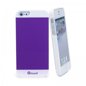 Muvit Colorful Case Violet iPhone 5 en 5S