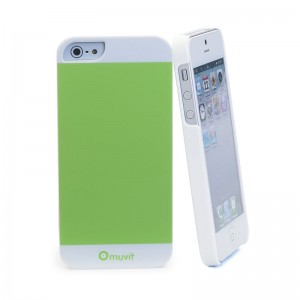 Muvit Colorful Case Green iPhone 5 en 5S
