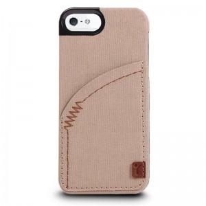 TheJoyFactory Denim Khaki iPhone 5 en 5S