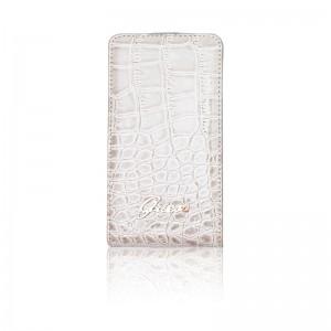 Guess Flip Case Crocodile Beige iPhone 4 en 4S
