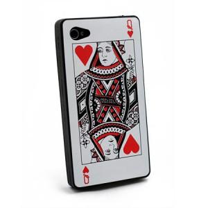 Card Case zwart iPhone 4 en 4S