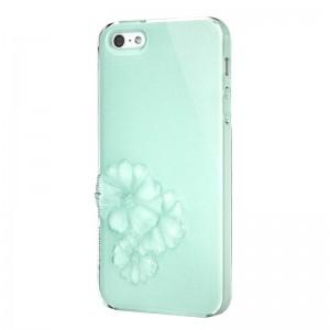 SwitchEasy Dahlia Sparkling Mint iPhone 5 en 5S