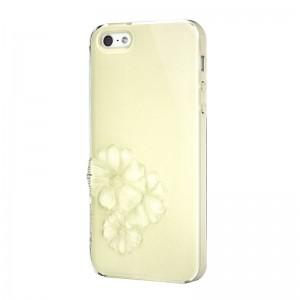 SwitchEasy Dahlia Sparkling Yellow iPhone 5 en 5S